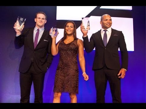 Fallon Fox recieves the 2013 HMI Emery award