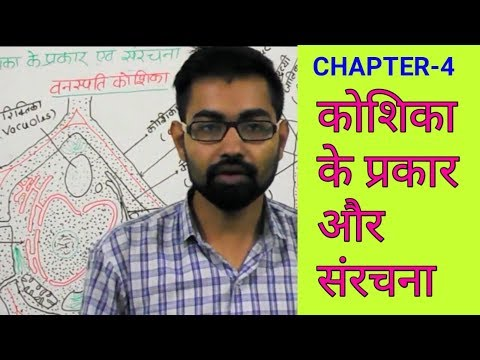 Types of cell and cell structure | biology chapter -4 |for upsc uppcs ssc bank railway exams prep.