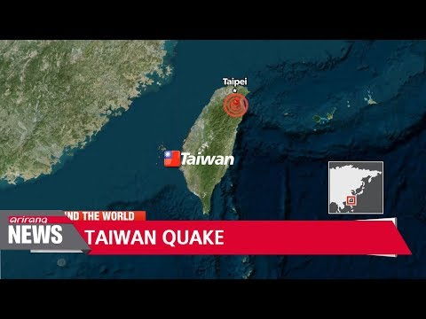 Magnitude 5.3 quake hits Taiwan, no injuries reported