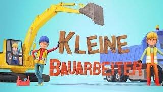 Kleine Bauarbeiter App - Baustellen Spiel für Kinder mit Bagger & Kran