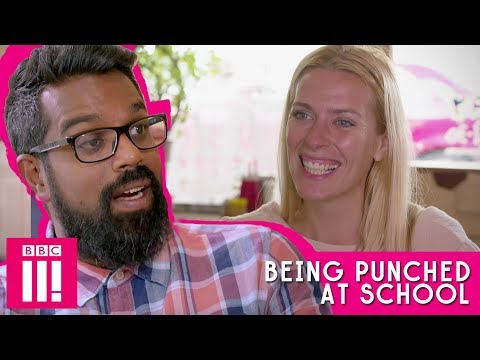 Being Punched At School | Romesh Talks To Sara Pascoe
