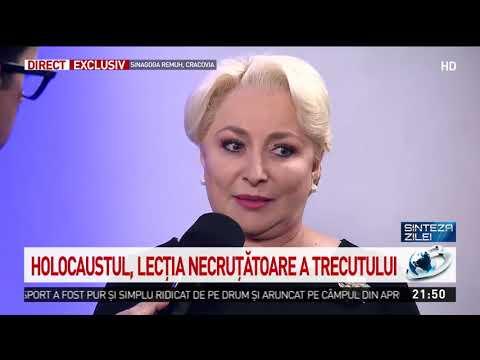 """Viorica Dăncilă, Prezentă La Marșul Vieții De La Auschwitz. """"Este Un Eveniment Tulburător. A"""