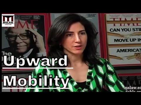 Rana Foroohar- Whatever Happened To Upward Mobility In America?
