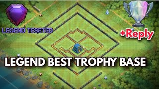 BEST TH12 STRONG DEFENSIVE LEGEND 2018  BASE WITH REPLY PROOF - CLASH OF CLANS