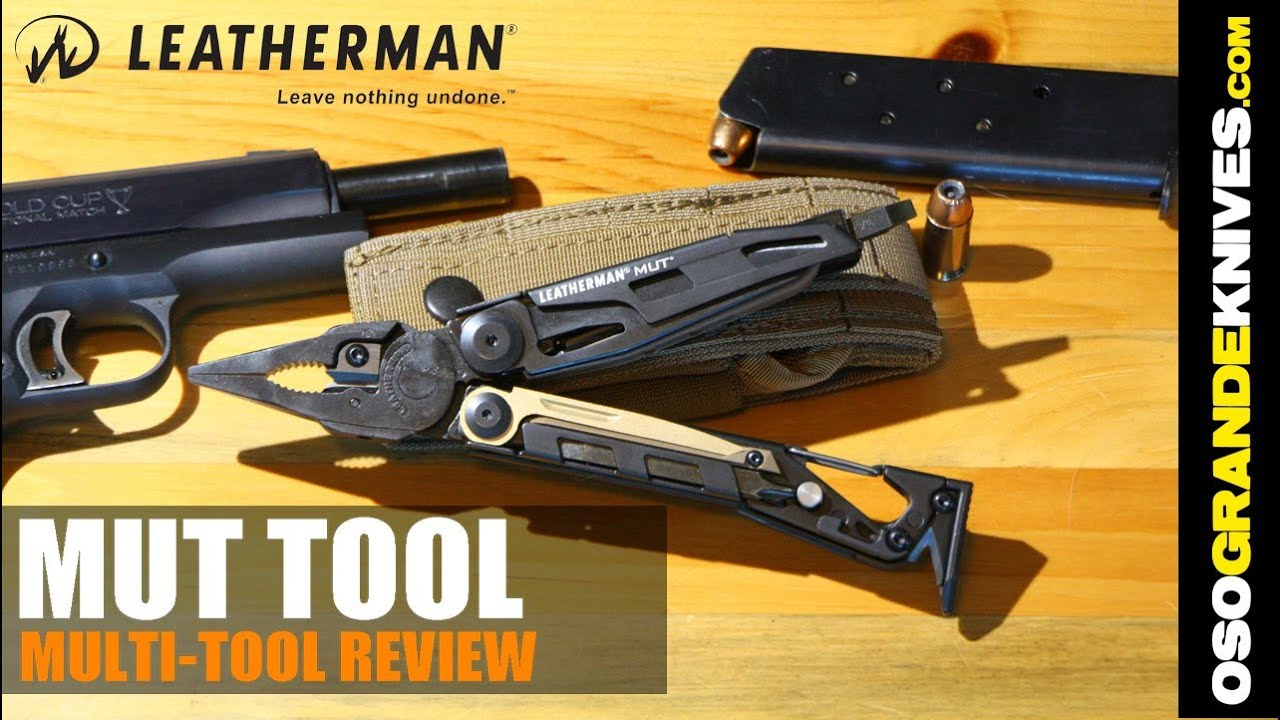 Leatherman MUT Multi-Tool Review