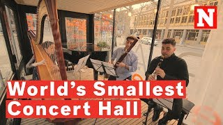 Inside The World's Smallest Concert Hall