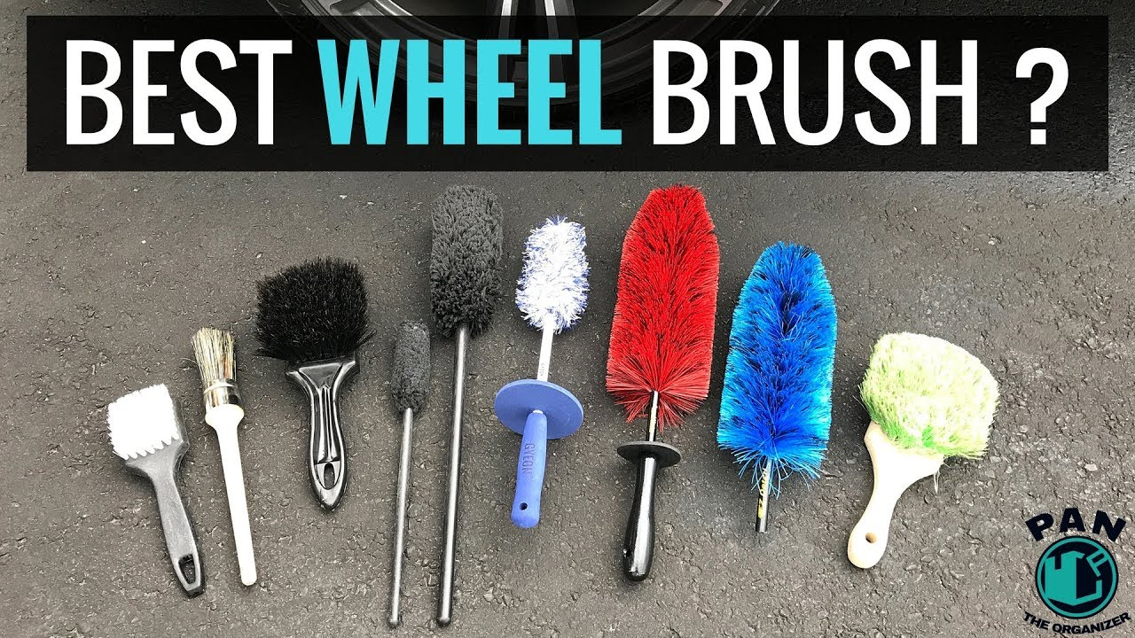 THE BEST WHEEL CLEANING BRUSHES
