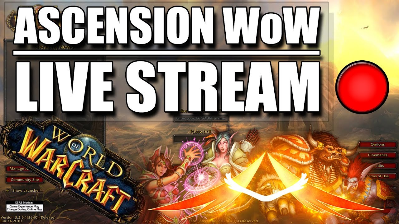Amazing Caster Build!! Ascension WoW - Classless/Wildcard || High Risk ||  FFA || Steal Loot in PVP