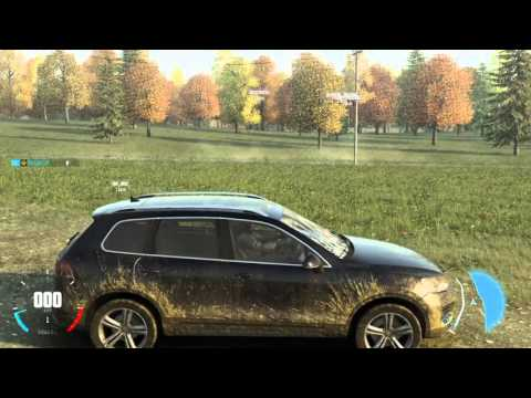 The Crew Wild Run VW Touareg Off Road Cruising Manual Transmission PS4 Gameplay HD