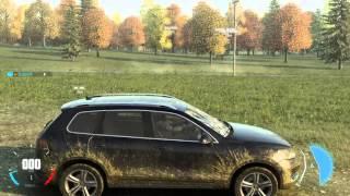 The Crew Wild Run - VW Touareg Off-Road Cruising ( Manual Transmission ) - PS4 Gameplay HD