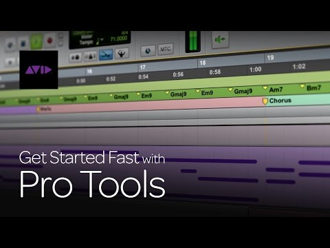 Get Started Fast with Pro Tools (Episode 1)