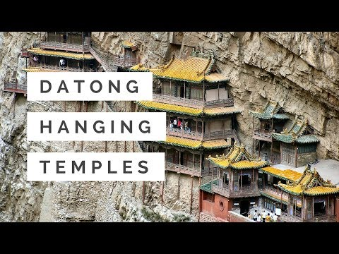The Hanging Temple - Datong City China