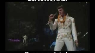 Elvis presley.My Way com legenda e tradução
