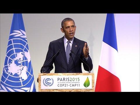 Obama Urges Action on Climate Change at Paris Talks