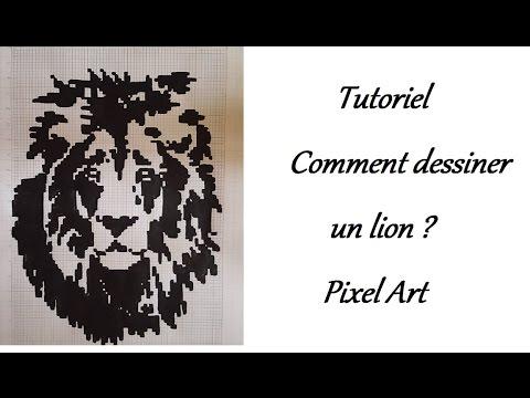 tutoriel comment dessiner un lion youtube. Black Bedroom Furniture Sets. Home Design Ideas