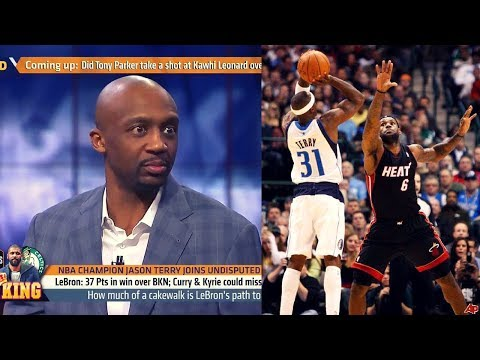Jason Terry Talks EXPOSING LEBRON In 2011 Finals!! Says LBJ CAN'T GUARD Giannis OR Jabari Parker!
