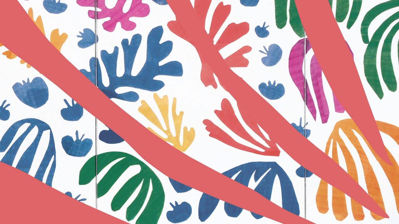 Kids Wallpaper Hd Henri Matisse Drawing With Scissors Youtube
