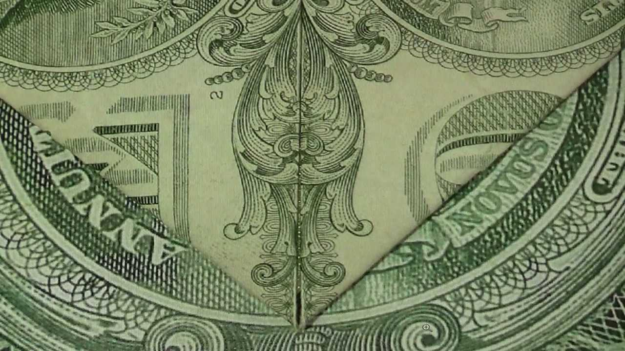 Fallen Angels & Satans Horns & Face on Dollar Billl ...Dollar Bill Secrets Alien