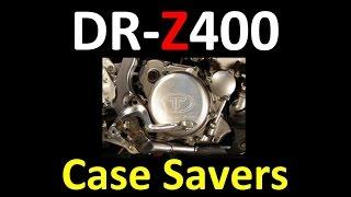 Suzuki DR-Z400 series Shift Lever & Case Saver Modifications (MANDATORY MODS) DRZ DRZ-400