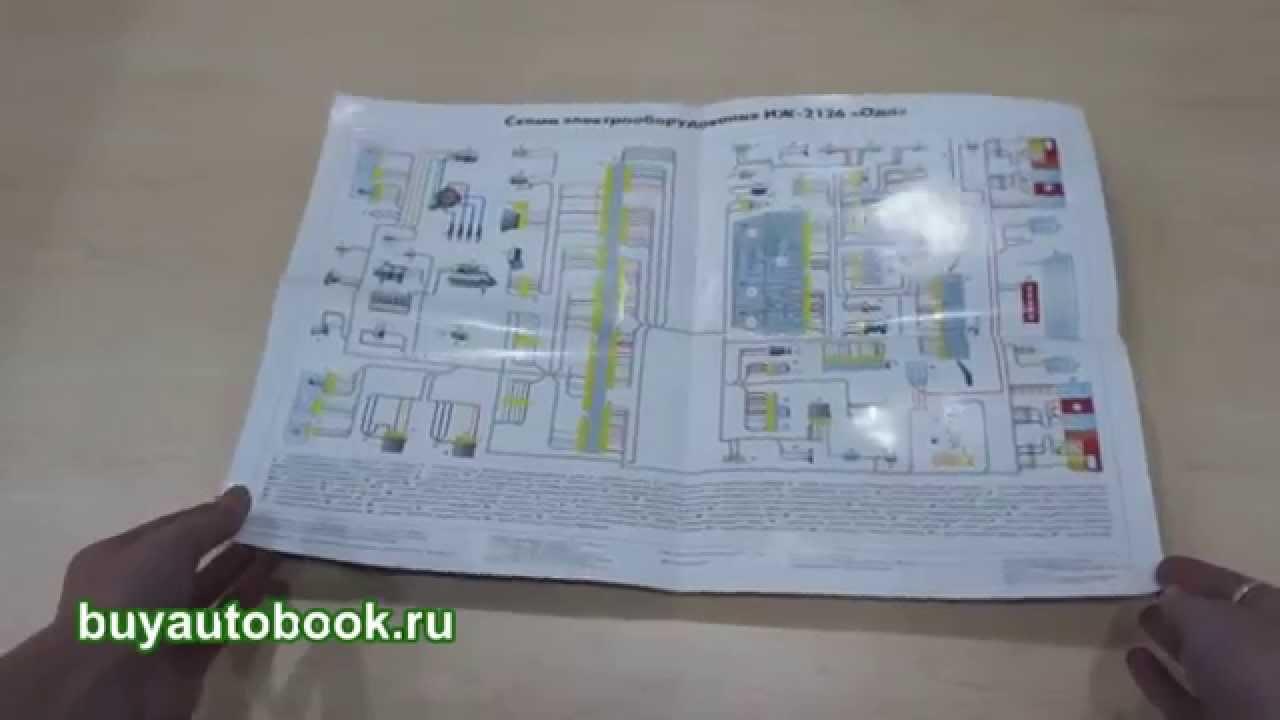 принципиальная схема электрооборудования иж-ю 5