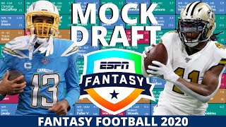 2020 Fantasy Football Mock Draft (PPR) - 12 Team - Pick 4