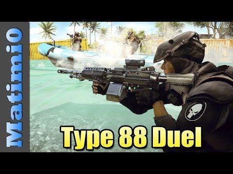Type 88 LMG Duel