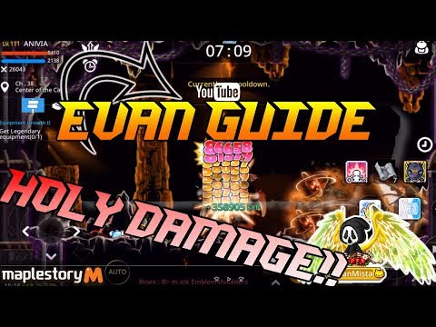 How To Play Evan- Maplestory M Evan Gameplay