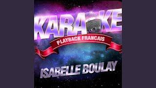 Quelques Pleurs — Karaoké Playback Instrumental — Rendu Célèbre Par Isabelle Boulay