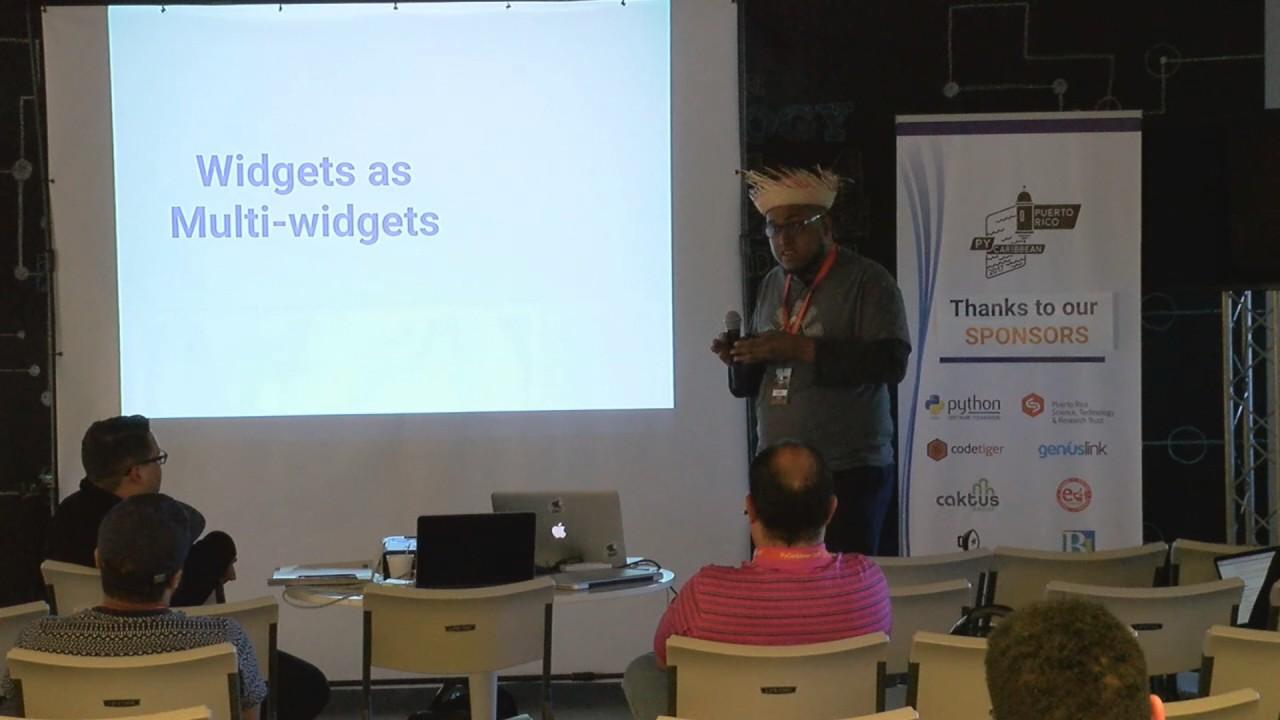 Image from A whole new way: How Django widgets became awesome - Leonardo Jimenez