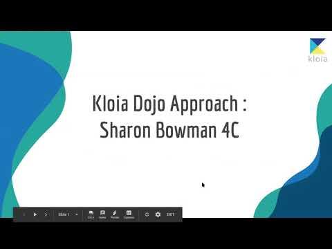 kloia Dojo approach: Sharon Bowman 4C