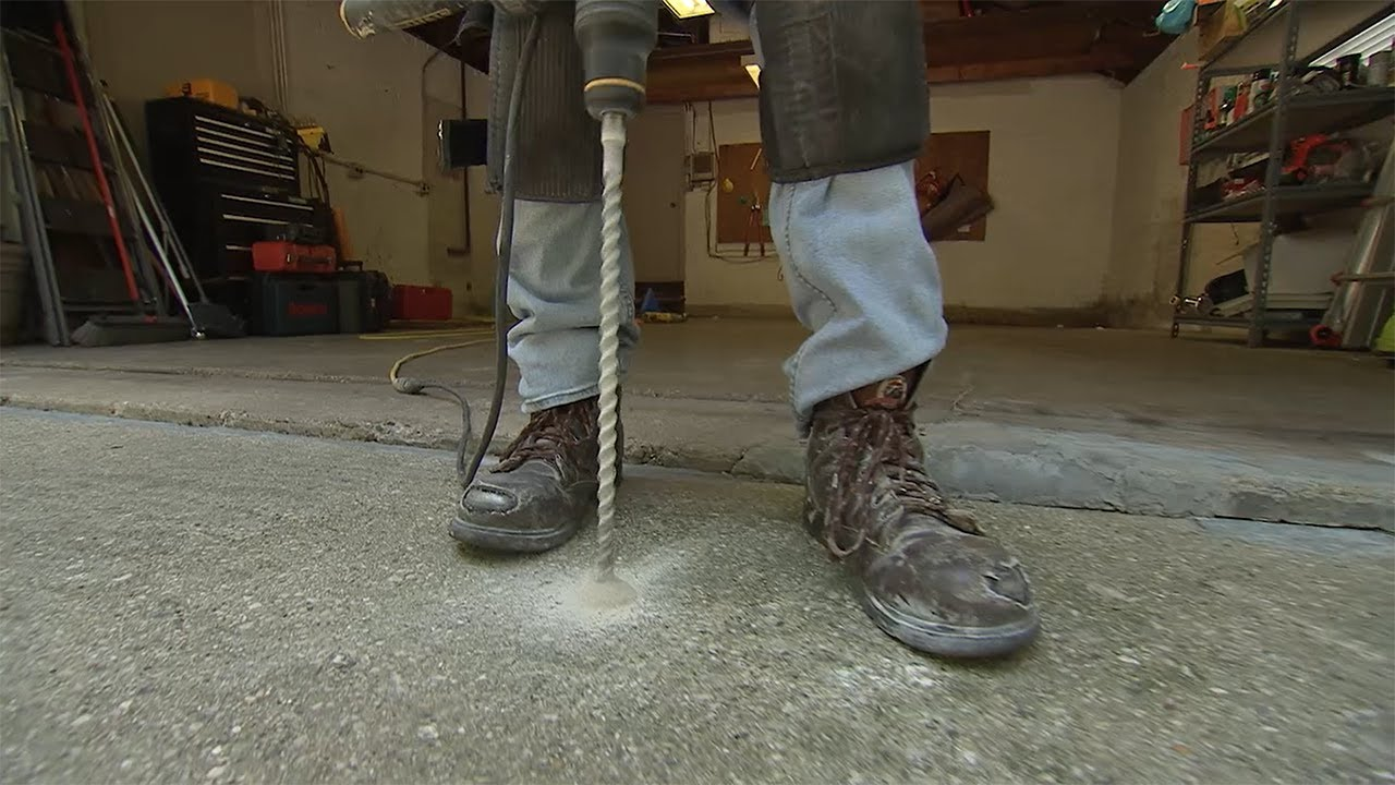 PolyLevel: Concrete Leveling   HouseSmarts