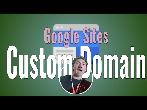 Add a Custom Domain to a Google Site