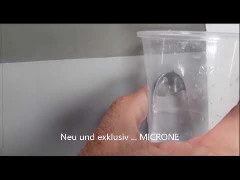 Mikrozement Microne, wasserdicht