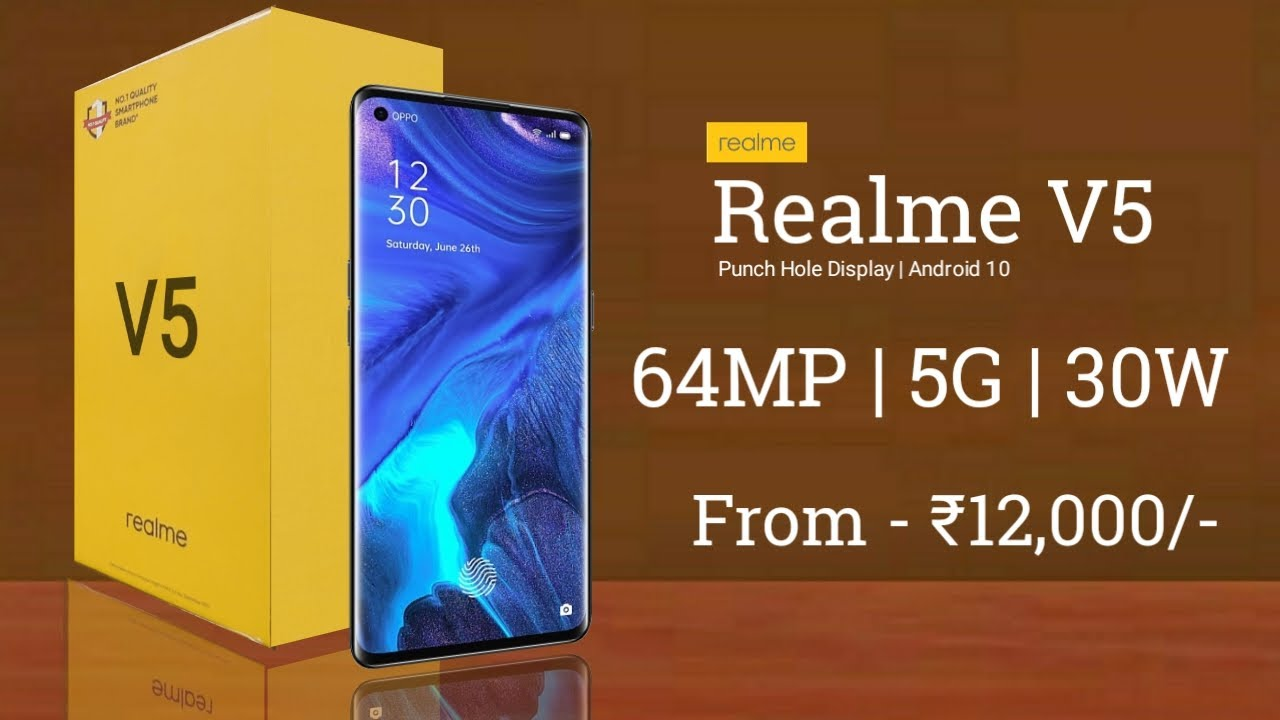 Realme V5 - Everything Confirmed, Price in India, Specifications, Launch Date In India : Realme