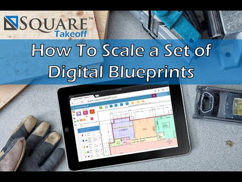 How to scale a set of digital blueprints with square takeoff how to scale a set of digital blueprints with square takeoff software malvernweather Images