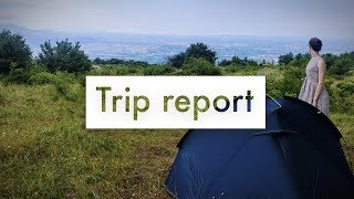 Abruzzo Italy hiking and camping - Trip report