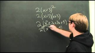 Basic Algebra Refresher