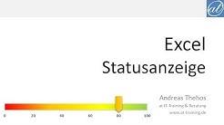 Excel # 408 - Dynamische Statusanzeige aus XY-Diagramm