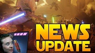 NEWS UPDATE: Geonosis Event, More Dev Videos, Flashbang Changes (!) - Battlefront 2