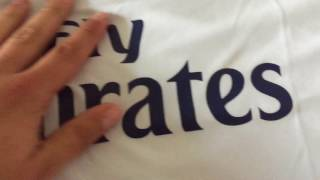 Minejerseys- Real Madrid 16/17 Home Jersey (Player Version) Review