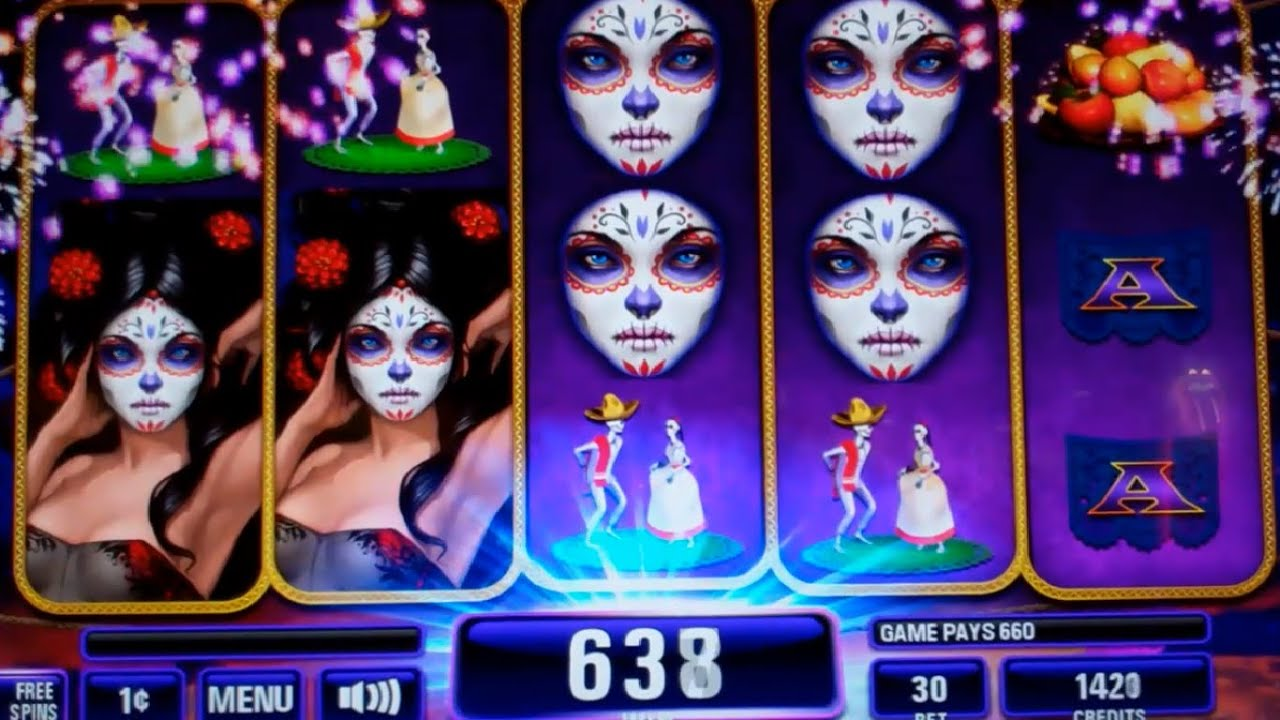 Lady Of The Dead Slot Machine
