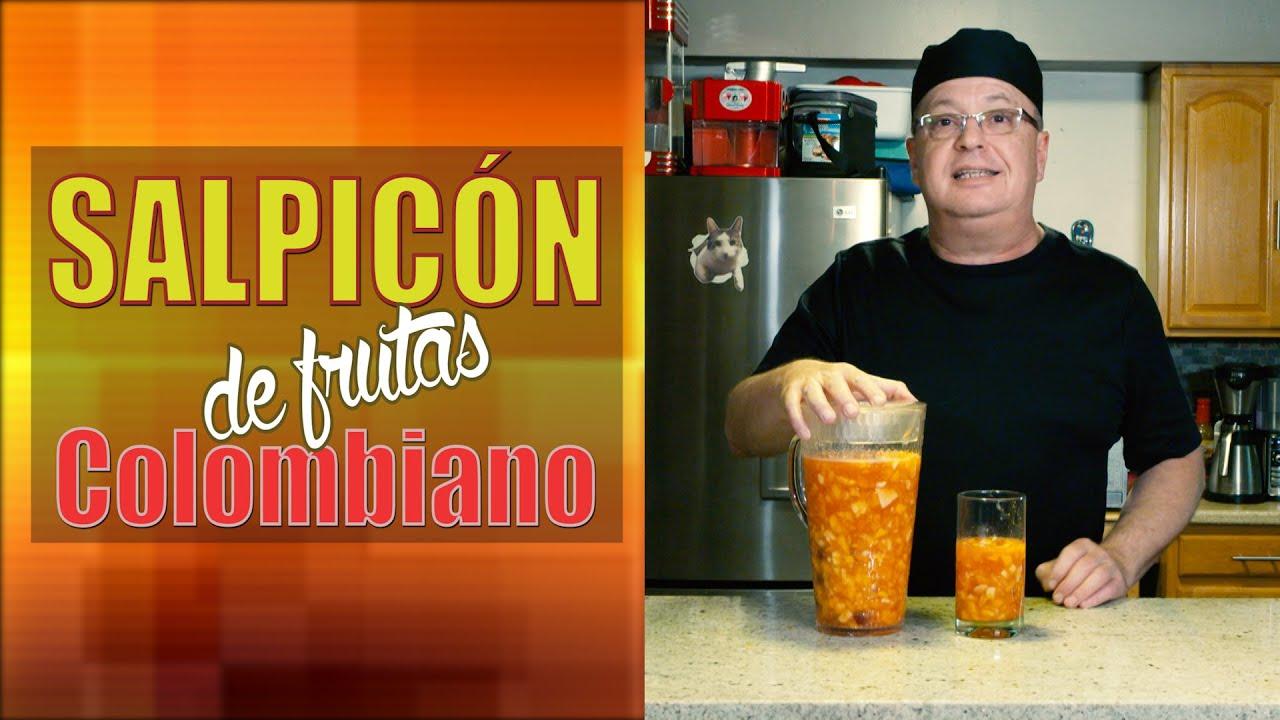 SALPICON DE FRUTAS COLOMBIANO