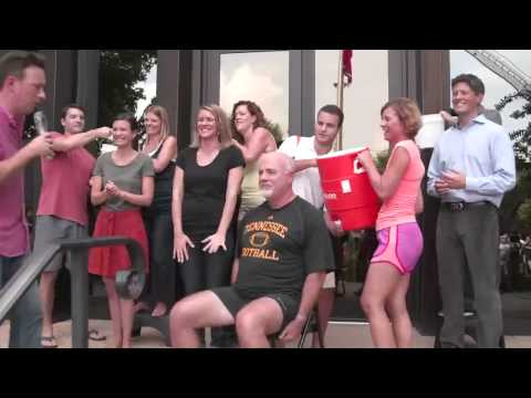Dave Ramsey's Ice Bucket Challenge! #StrikeOutALS