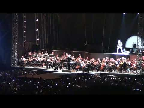 "Athens state orchestra feat.Rudolf Schenker -""Rock you like a hurricane"" (Kallimarmaro 16/7/18)"