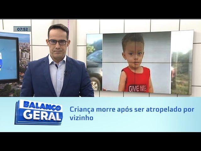 Embriaguez ao volante: Criança morre após ser atropelado por vizinho em união dos Palmares