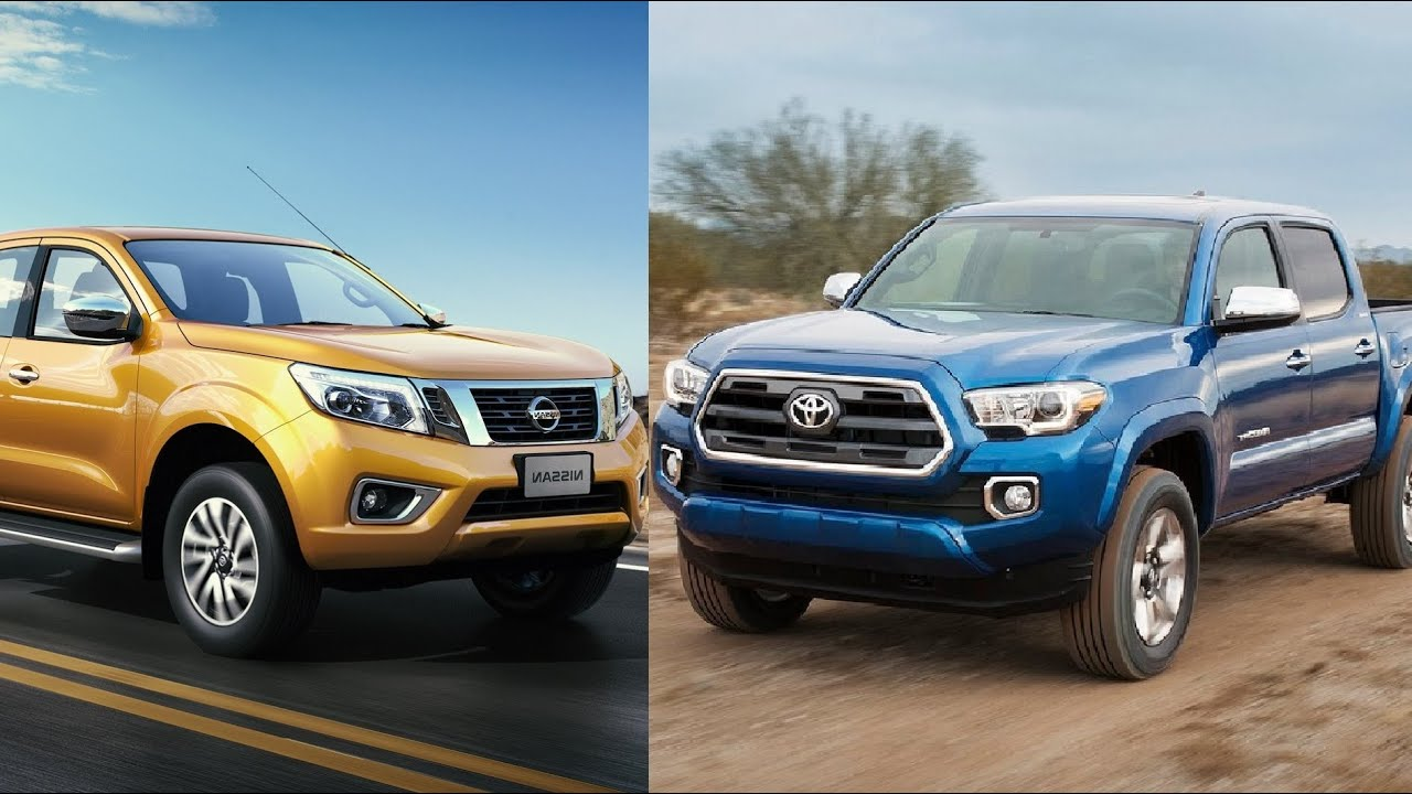 2016 tacoma vs nissan navara visual comparison youtube. Black Bedroom Furniture Sets. Home Design Ideas