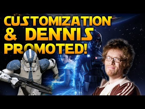 """SIGNIFICANT COSMETICS"" & DENNIS PROMOTED! - Star Wars Battlefront 2 News"