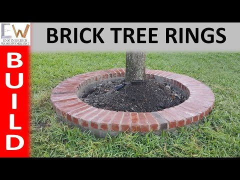 How to Build Brick Tree Rings - DIY
