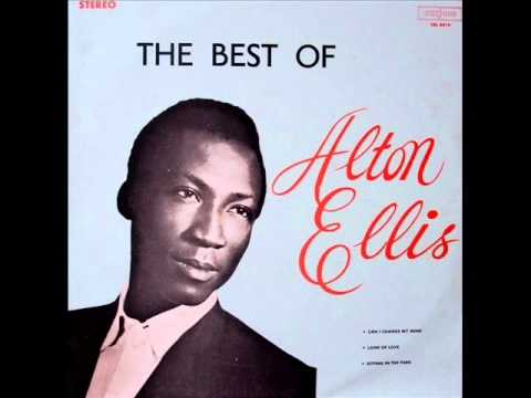 Alton Ellis - Breaking up is hard to do-Studio One Reggae