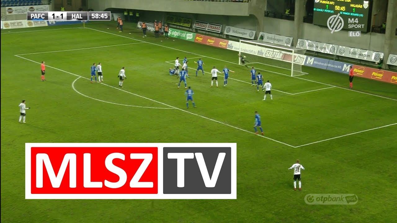 Wils Stef gólja a Puskás Akadémia FC - Swietelsky Haladás mérkőzésen